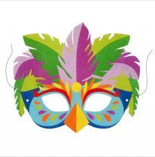 Máscara Carnaval Fantasy Pájaro
