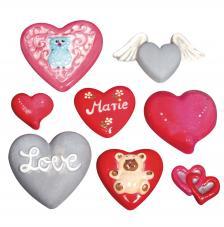 Molde fundicion corazones 2