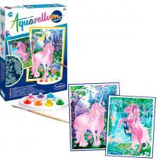Aquarellum fluorescente unicornios