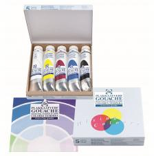 Set 5 tubos tempera talens 5x20 ml