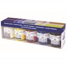 Set 5 frascos tempera talens 50 ml