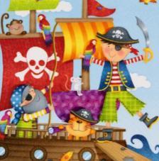 20 servilletas. Piratas
