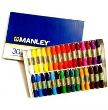 Estuche 30 ceras Manley
