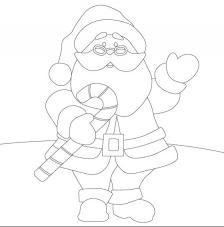 Papa Noel. 20x20 cm Precortado