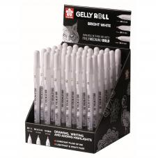 Expositor 36 gelly roll blanco