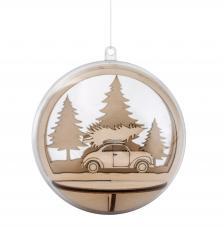 Kit montage bola de madera car & Tree  Ø 9,5 cm