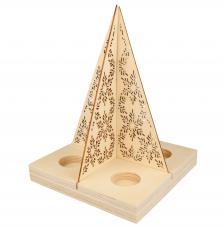 Árbol Navidad Porta velas 32x20x27 cm