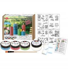 Kit Pintar Velas Happy Moment Viva Decor