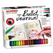 Bullet Journal Alpino. Set diferentes rotuladores