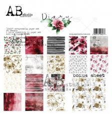 Diary AB STUDIO 30x30 8und. AB10