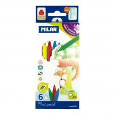 Caja 6 Plastipastel de colores
