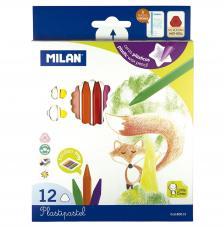 Caja 12 Plastipastel de colores