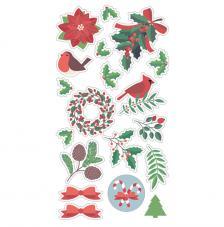 Sticker Merry Christmas Artemio