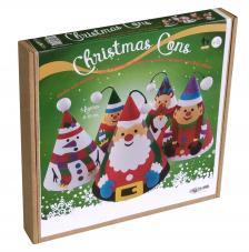 Pintar con arenas. Pack 5 conos Árbol Navidad