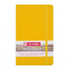 Cuaderno boceto tapa dura cosida Amarillo Pastel Art Creation 80 hojas 140 g/m2. 13x21 cm