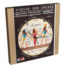 Set Pinta Reloj Pared con arenas. Egyptian