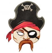 Máscara Carnaval Pirata Boy 4