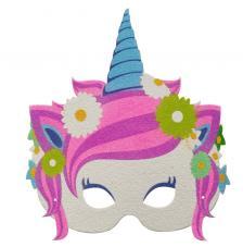 Máscara Carnaval Unicornio 4