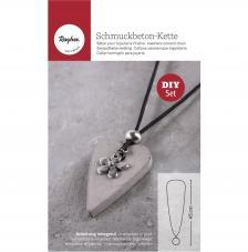 Kit Collar de cemento creativo Tag Corazón