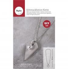 Kit Collar de cemento creativo Tag Diamante