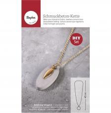 Kit Collar de cemento creativo Tag Oval
