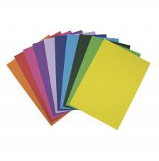 100 hojas papel 10 colores A4 180 g/m2