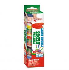Estuche pintura dedos 5x40 ml