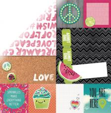Paper doble cara 30,5 x 30,5 cm. Sweet