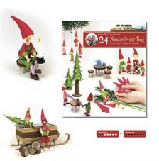 Magazine quilling 24 gnome and 117 pieces more