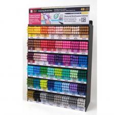 Rotulador punta pincel Coloring Brush Pen
