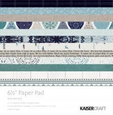 40 papeles 16,5x16,5 cm. Wonderland