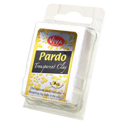 Pardo Jewellery Clay 8 colores TRANSPARENTES pastilla 60 gr