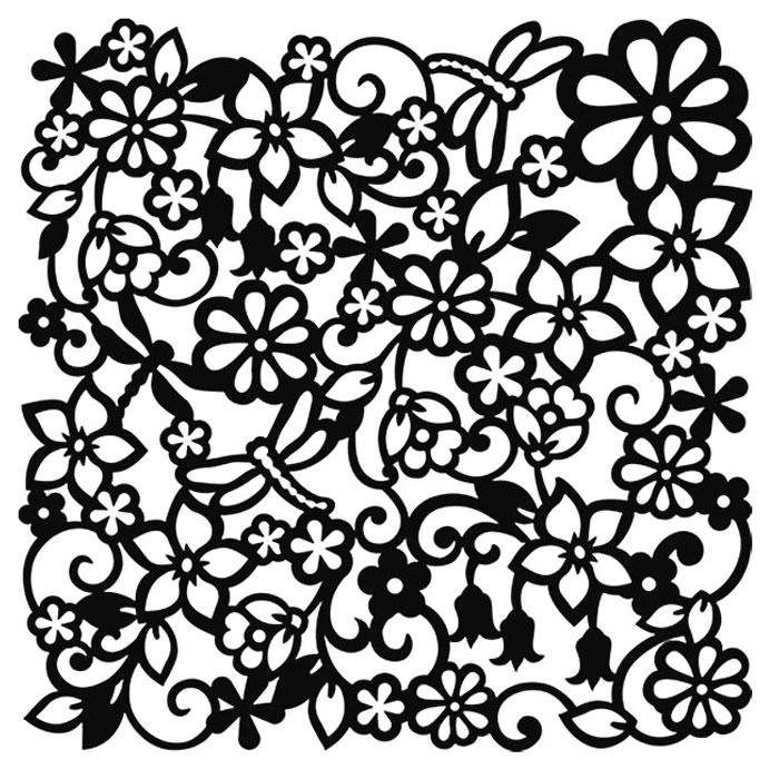 Именем талех, ажурный рисунок для открытки
