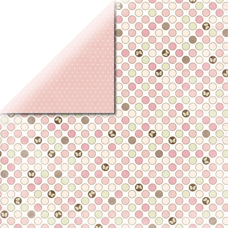 Papel doble cara 30,5 x 30,5 cm. Dot