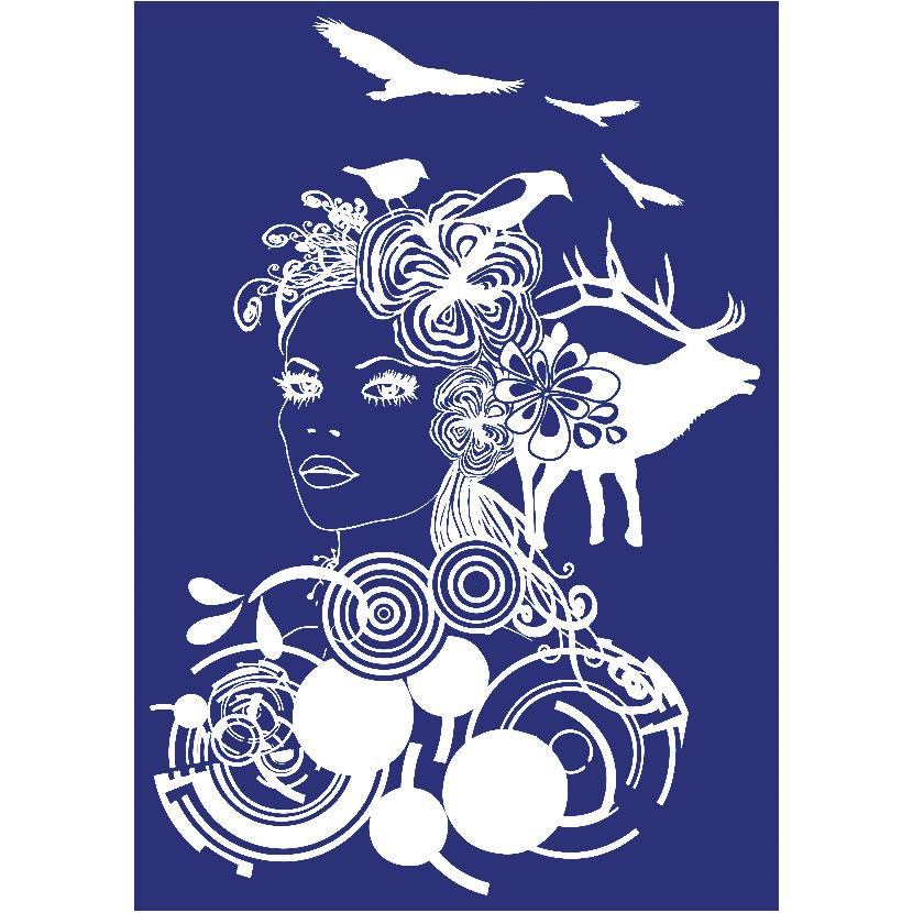 Stencil My Style Noia  21x29,5 cm