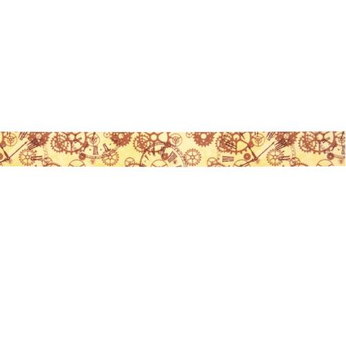 Washi Tape Cogwheel 15mm roll 15m