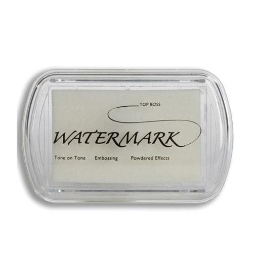 Tinta para polvos embossing transparente. Efecto mojado.