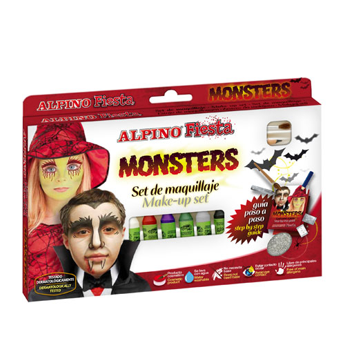 Kit maquillaje monsters