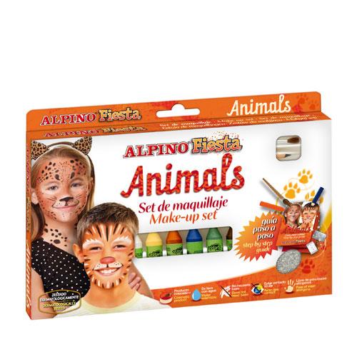 Kit maquillaje animales