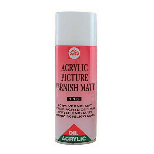 Vernis mate per Oli i Acrilic spray 400 ml