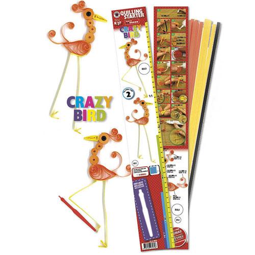 Quilling kit: Crazy Bird
