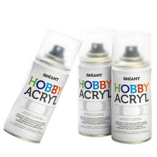 Pintura acrílica en Spray 150 ml.