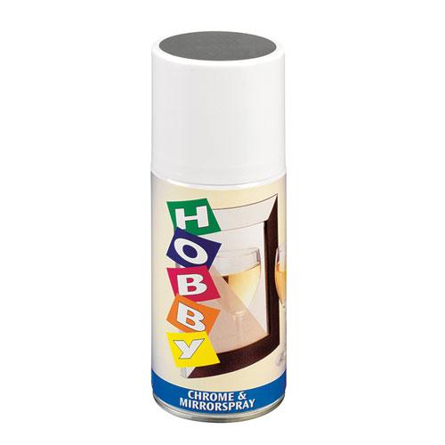 Pintura cromada y efecto espejo en Spray 150 ml