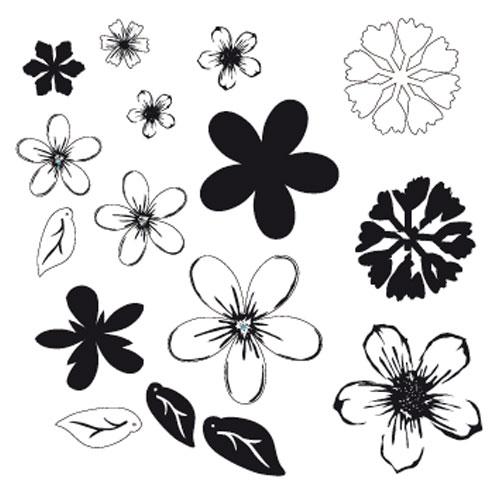 Minc 3D Flores 70 pzas