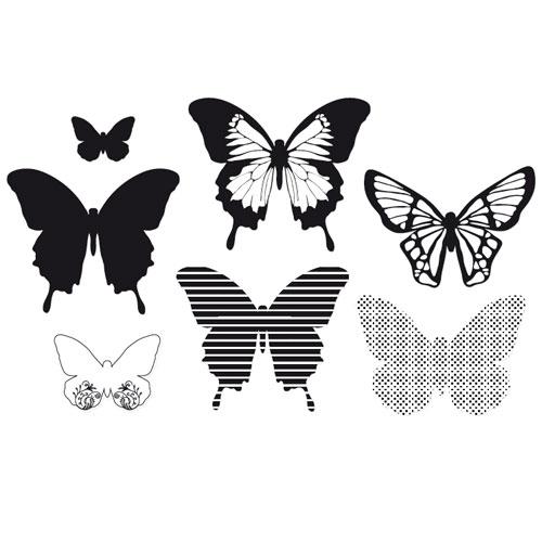 Minc 3D Mariposas 32 pzas