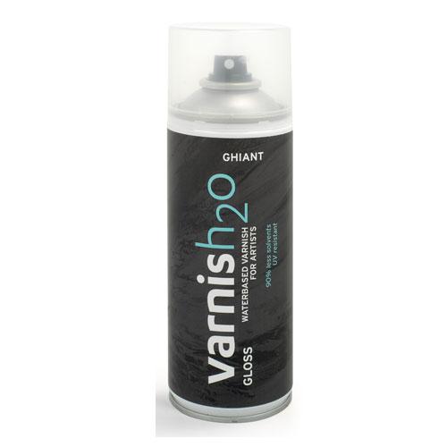 Vernís Spray brillant H2O 150 ml