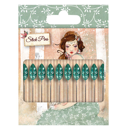 10 Stick Pins. Santoro Willow