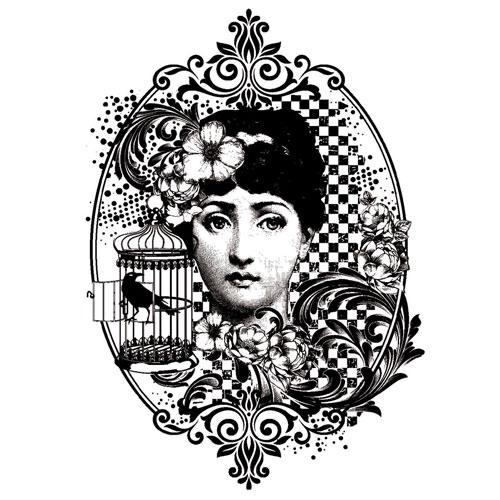 Sello de caucho A6 Miss Austen