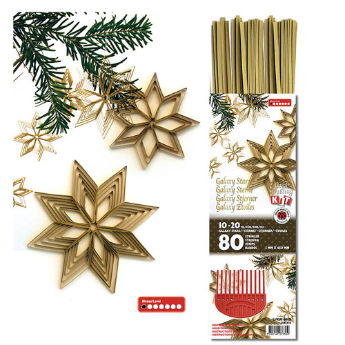 Kit quilling Galaxy Stars luxux Gold