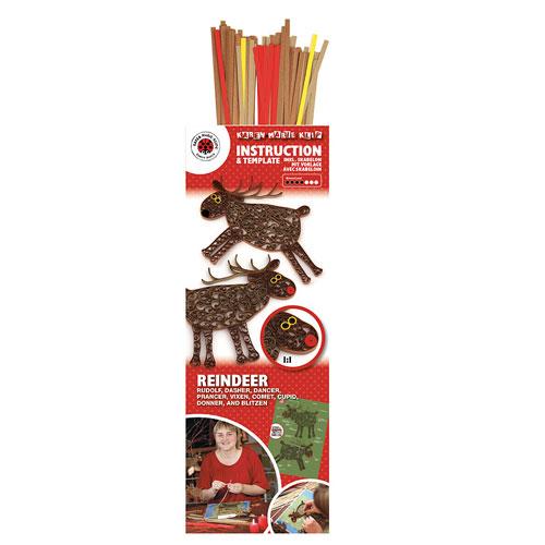 Kit reindeer quilling